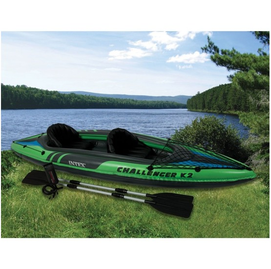 Intex Inflatable Kayak Challenger K2 351 X 76 Cm