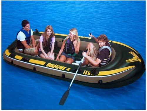 надувная лодка дома